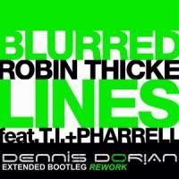 Robin Thicke feat. T.I. & Pharrell - Blurred Lines (Dennis Dorian Extended Bootleg REWORK)